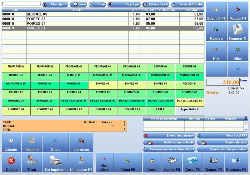 Frontshop logiciel de caisse et de gestion des magasins de d coration - Logiciel de decoration ...