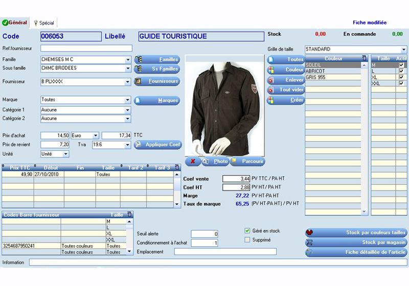 Frontshop logiciel de caisse et de gestion des magasins de - Fiche de poste vendeuse pret a porter ...